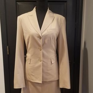 Tan Limited Skirt Suit